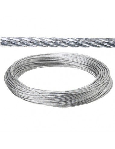 Cable Galvanizado 2 mm. (Rollo 100 Metros) No Elevacion