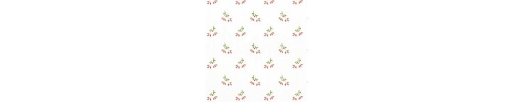 Láminas adhesivas flores y rayas