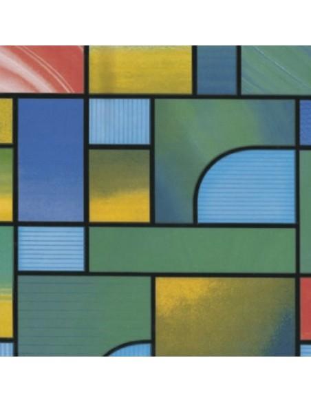 Láminas adhesivas translúcidas y vidriera