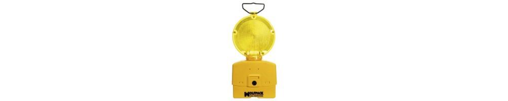 Balizas señalización y cinta seguridad