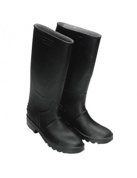 Botas goma altas negras